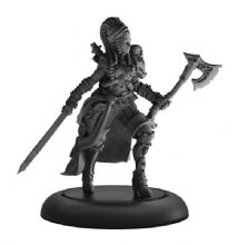 Captain Rahera, Terror of the Wailing Sea  Mercenary Warcaster (metal)